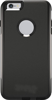 For iPhone 6/6S Plus Fashion Case Commuter Black