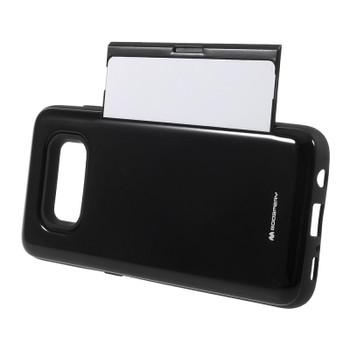 For Samsung Galaxy S8  Mercury Happy Bumper Case Black