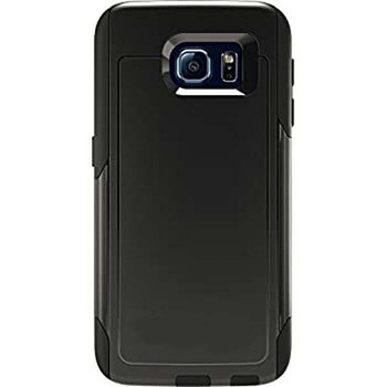For Samsung Galaxy S6  Outer Defender Case Black