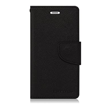 For Samsung Galaxy S4  Mercury Fancy Diary Case Black