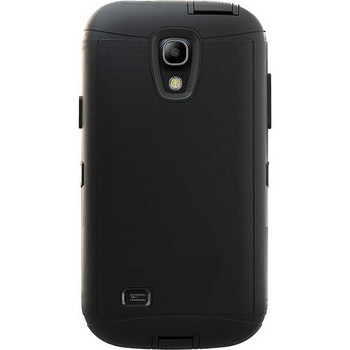 For Samsung Galaxy S4  Outer Defender Black