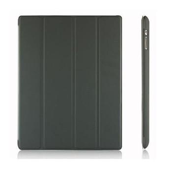 For iPad 2/3/4 Flip  Case Black