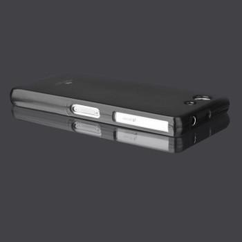 For Sony Z3 Mercury Jelly Pearl Case Black