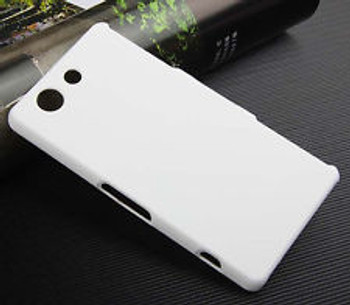 For Sony Z3 Mini/ Compact Rubber Case White