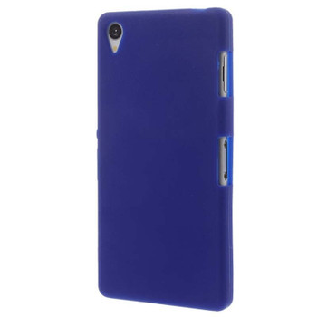 For Sony Z3 Mini/ Compact Rubber Case Blue