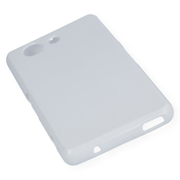 For Sony Z3  Rubber Case White