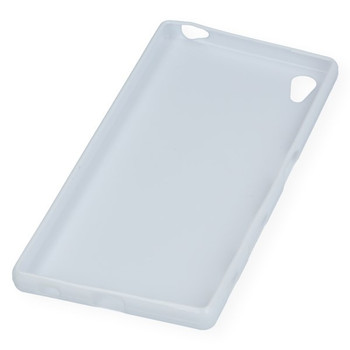 For sony Z5 Premium  Rubber Case White