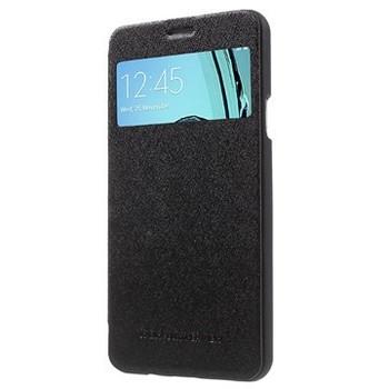 For Samsung A7 Mercury Happy Bumper Case black