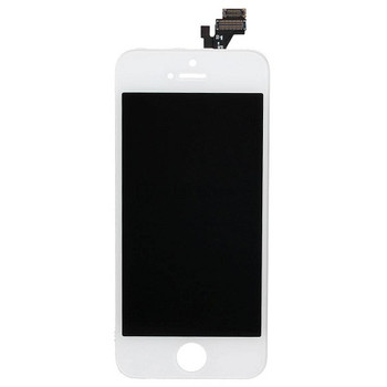 For iPhone 5  Refurb LCD and Touch Screen Assembly. (White)