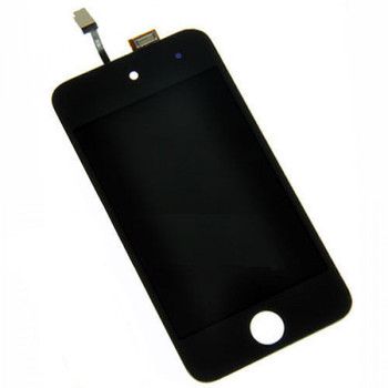 For iPod 4  LCD and Touch Screen Assembly. (Black)