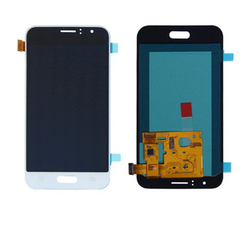 For Samsung Galaxy J1 (2016 SM-J120) LCD and Touch Screen Assembly (White)