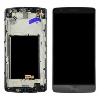 For LG G3 D855  LCD and Touch Screen Assembly With  Frame. (Black)