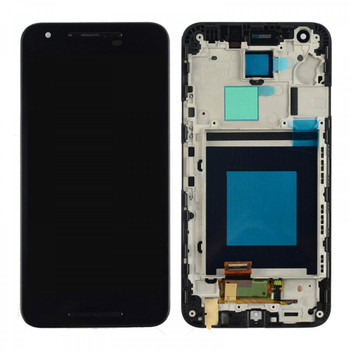 For LG Nexus 5 LCD and Touch Screen Assembly With Frame. (Black)