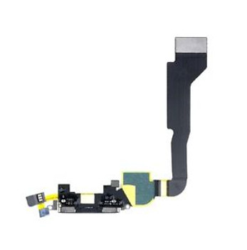 For iPhone 4 charging port Black