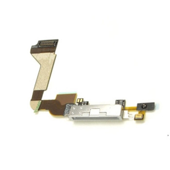 For iPhone 4S Charging Port White
