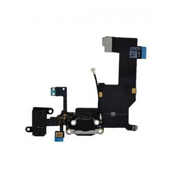 For iPhone 5 charging port Black