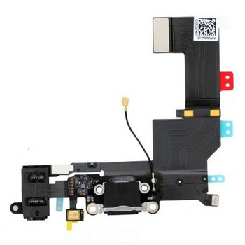 For iPhone 6 charging port Black