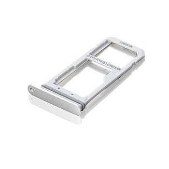 For Samsung Galaxy S7 Edge Sim Tray White