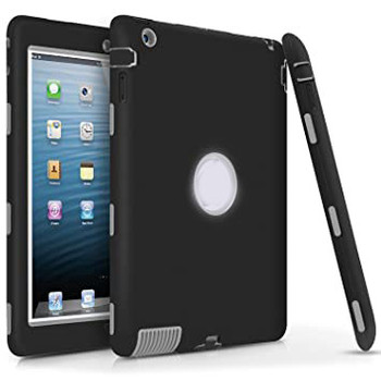 For iPad 2/3/4 Hard Case Black