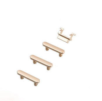 For iPhone 7 Volume Silent Button Set Gold