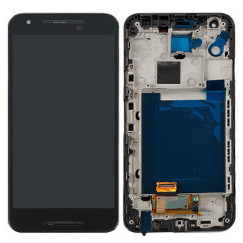 For LG Nexus 5X LCD and Touch Screen Assembly With Frame. (Black)