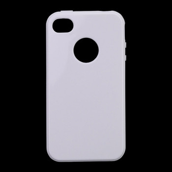For iPhone 4S Back Cover White