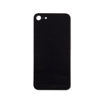For iPhone 8 Back Cover Black