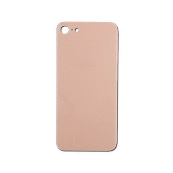 For iPhone 8 Back Cover Gold / Pink