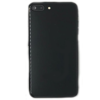 For iPhone 8 Plus Back Cover Black