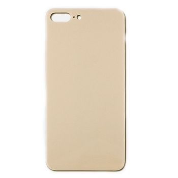 For iPhone 8 Plus Back Cover Gold