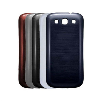 For Samsung Galaxy S3 Back Cover Black