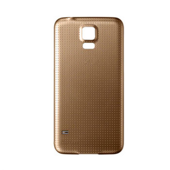 For Samsung Galaxy S5 Back Cover Gold