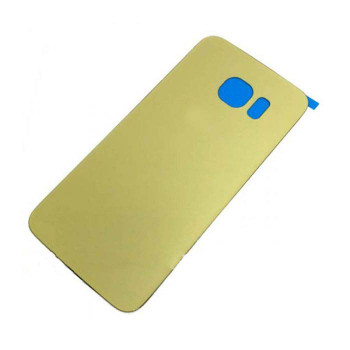 For Samsung Galaxy S6 Edge Back Cover Gold