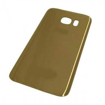 For Samsung Galaxy S7 Back Cover Gold