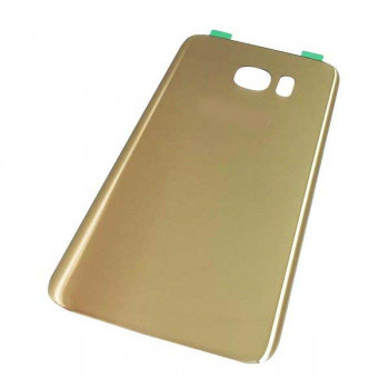 For Samsung Galaxy S7 Edge Back Cover Gold