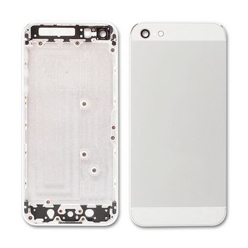 For iPhone 5 Back Housing Silver