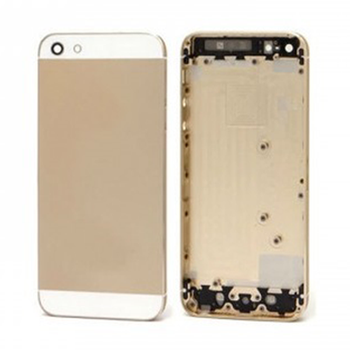 For iPhone 5 Back Housing Gold