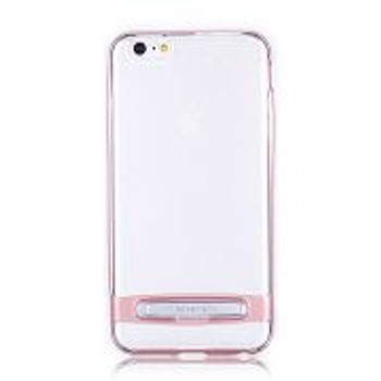 For iPhone 6/6S Mercury Dream Stand Bumper Clear