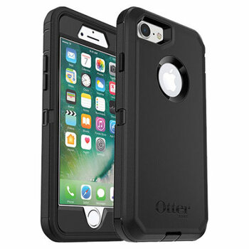 For iPhone 7 Plus / 8 Plus Outer Defender Black