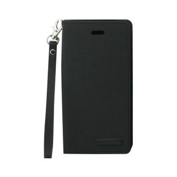 For iPhone 7/ 8 Mercury Canvas Flip Case Black
