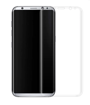For Samsung Galaxy S8 Plus 3D Full Tempered Glass Black