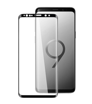 For Samsung Galaxy S9 Plus 3D Full Tempered Glass Black