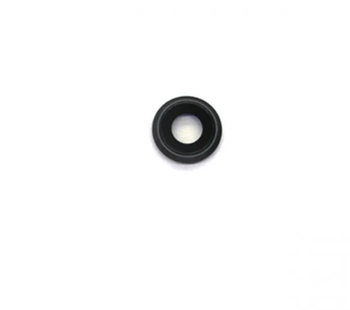 For iPhone 8 / SE 2020 Compatible Camera Lens With Bracket (Black)