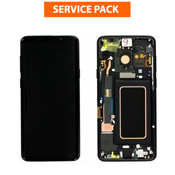 For Samsung Galaxy S9 Service Pack LCD and Touch Screen Assembly (Black)