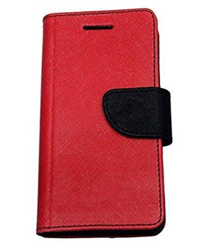 For Samsung Galaxy S9 Mercury Canvas Diary Red