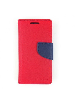 For Samsung Galaxy S9 Plus Mercury Canvas Diary Case Red