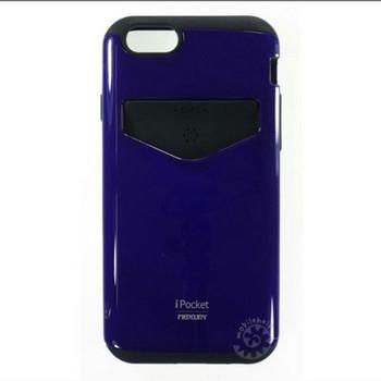 For iPhone 6/6S Plus Mercury iPocket Case Blue
