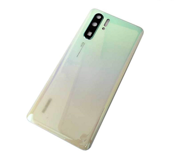For HTC U Play pearl white back cover