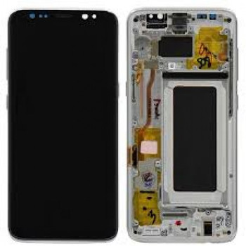 For Samsung Galaxy S8 Refurb LCD and Touch Screen Assembly  (Silver)