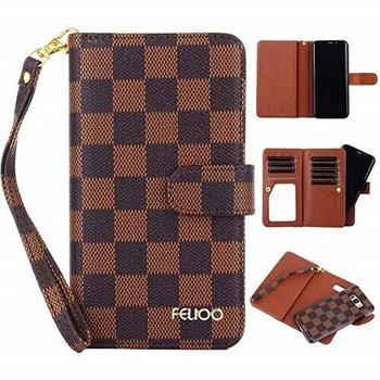 For iPhone 7/8 Luis Vuitton Flip Case